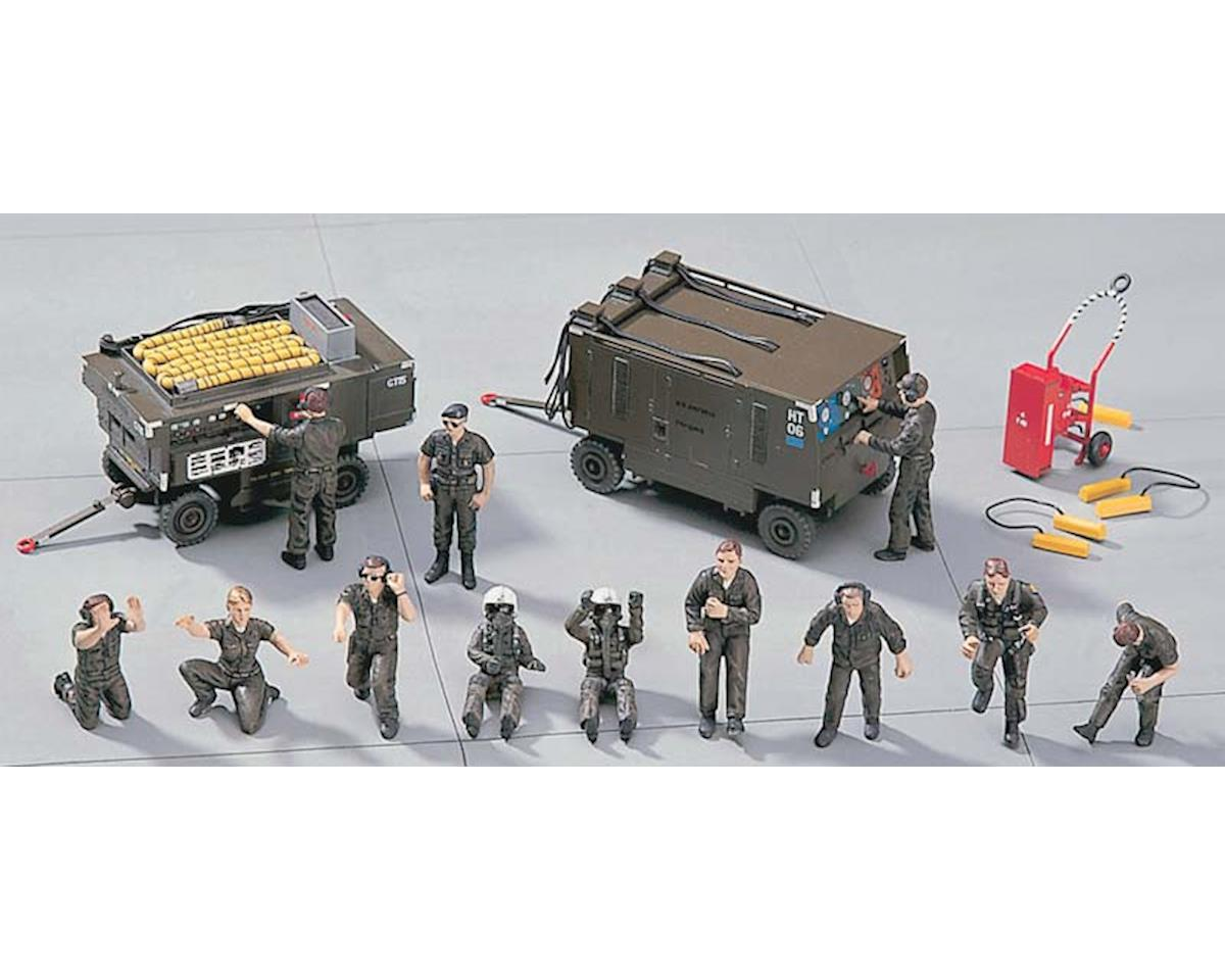 36004 1/48 US Ground Crew A by Hasegawa