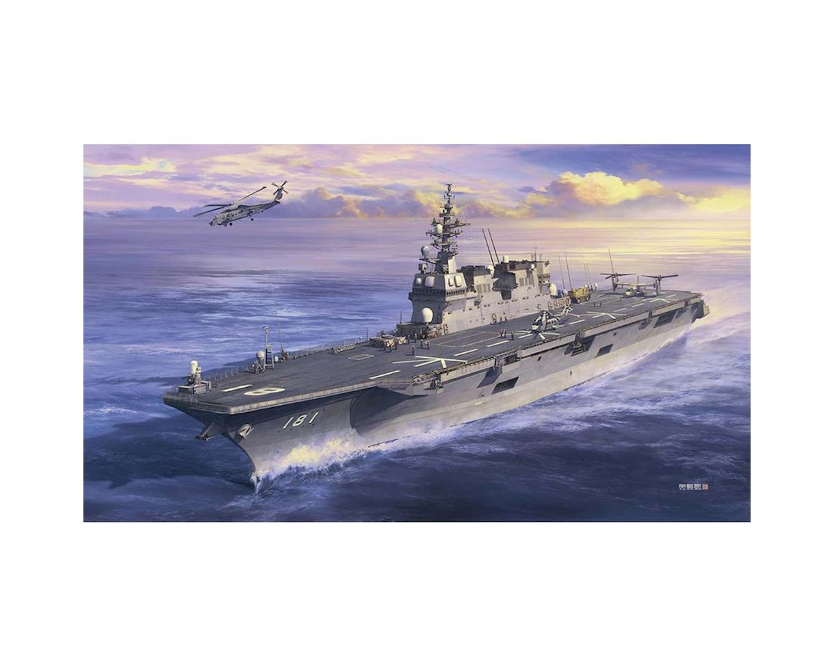 1/450 JMSDF DDH Hyuga Helicopter Destroyer by Hasegawa