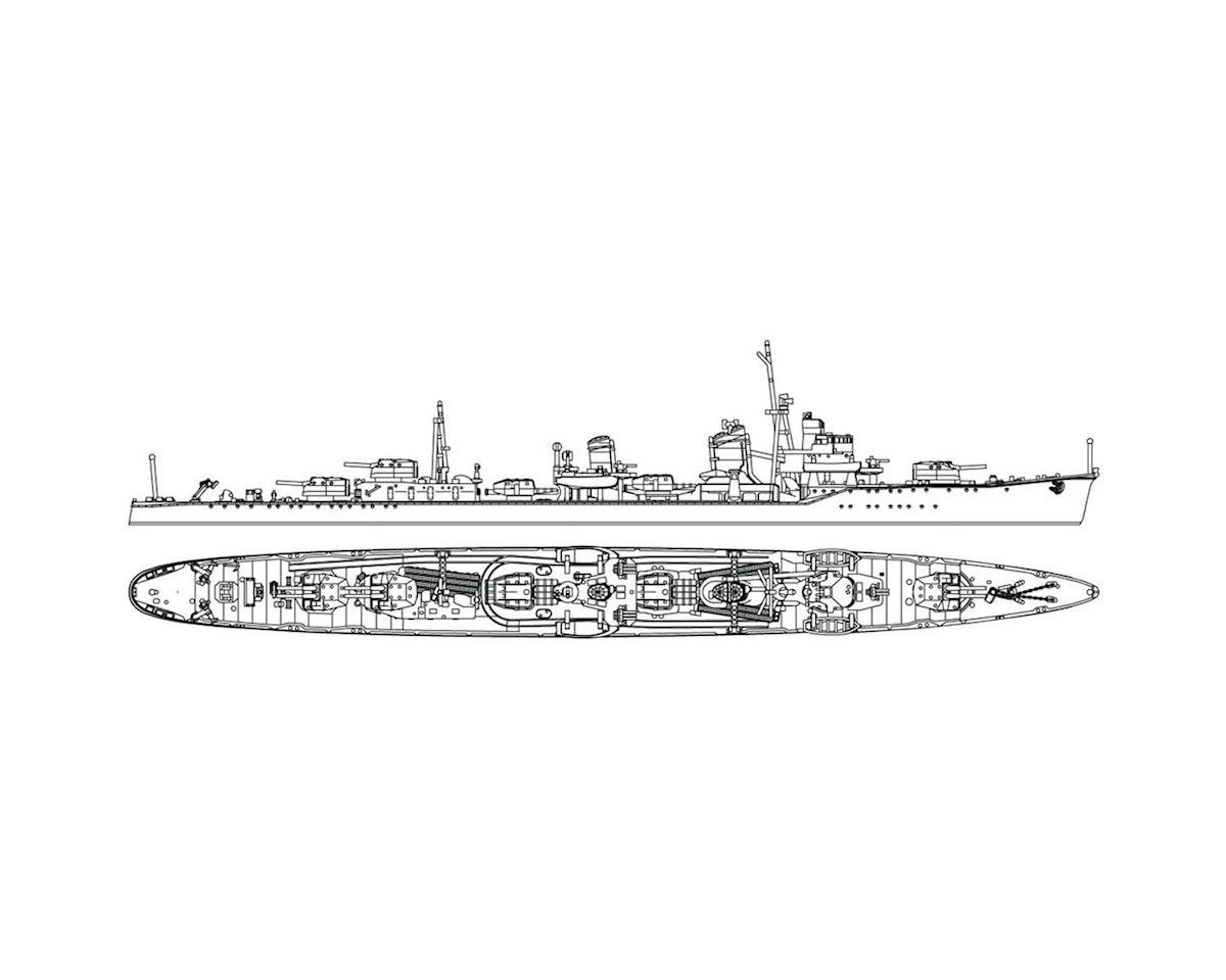 1/700 Japanese Navy Destroyer Hayanami by Hasegawa