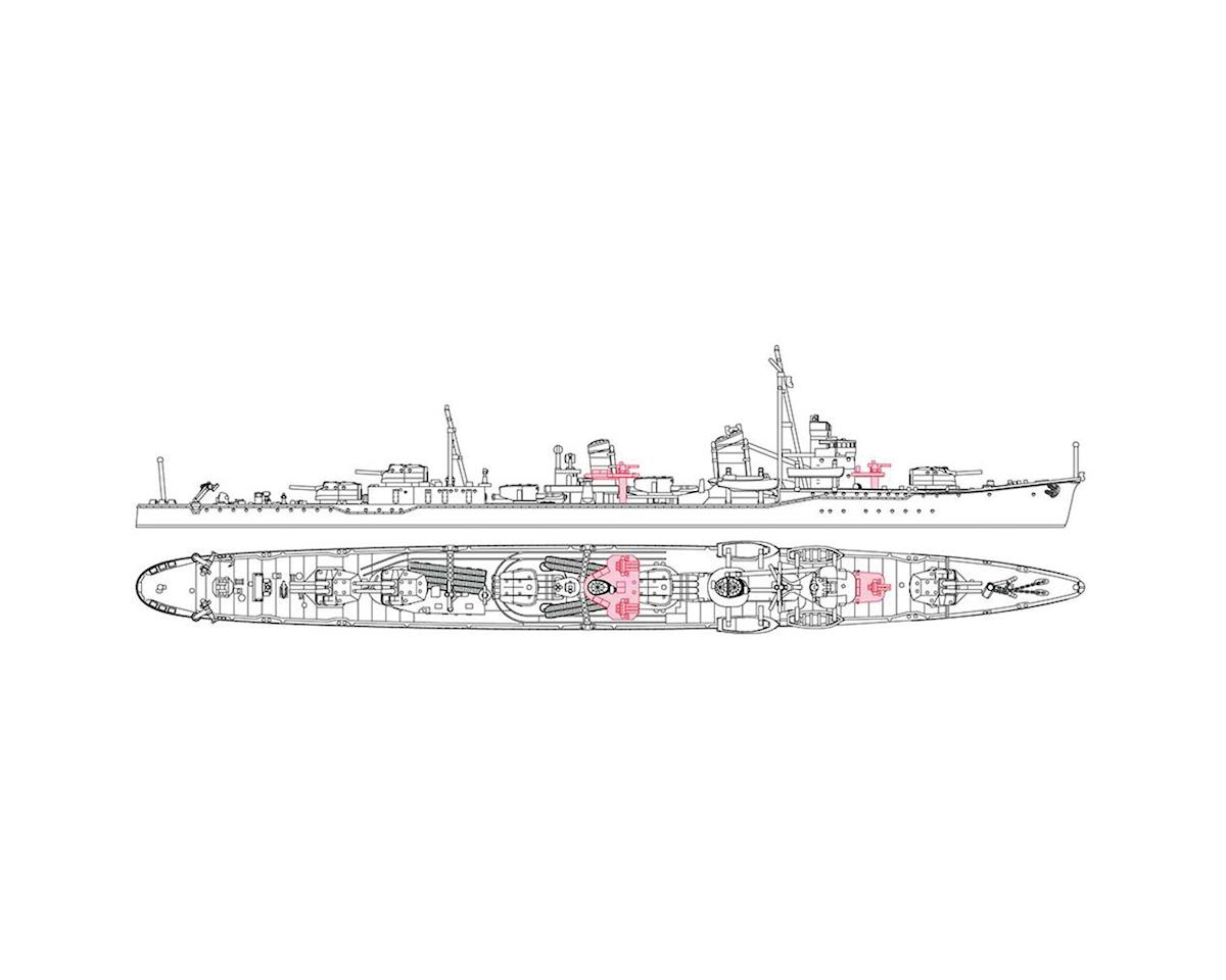 Hasegawa 1/700 Japanese Navy Destroyer Minegumo