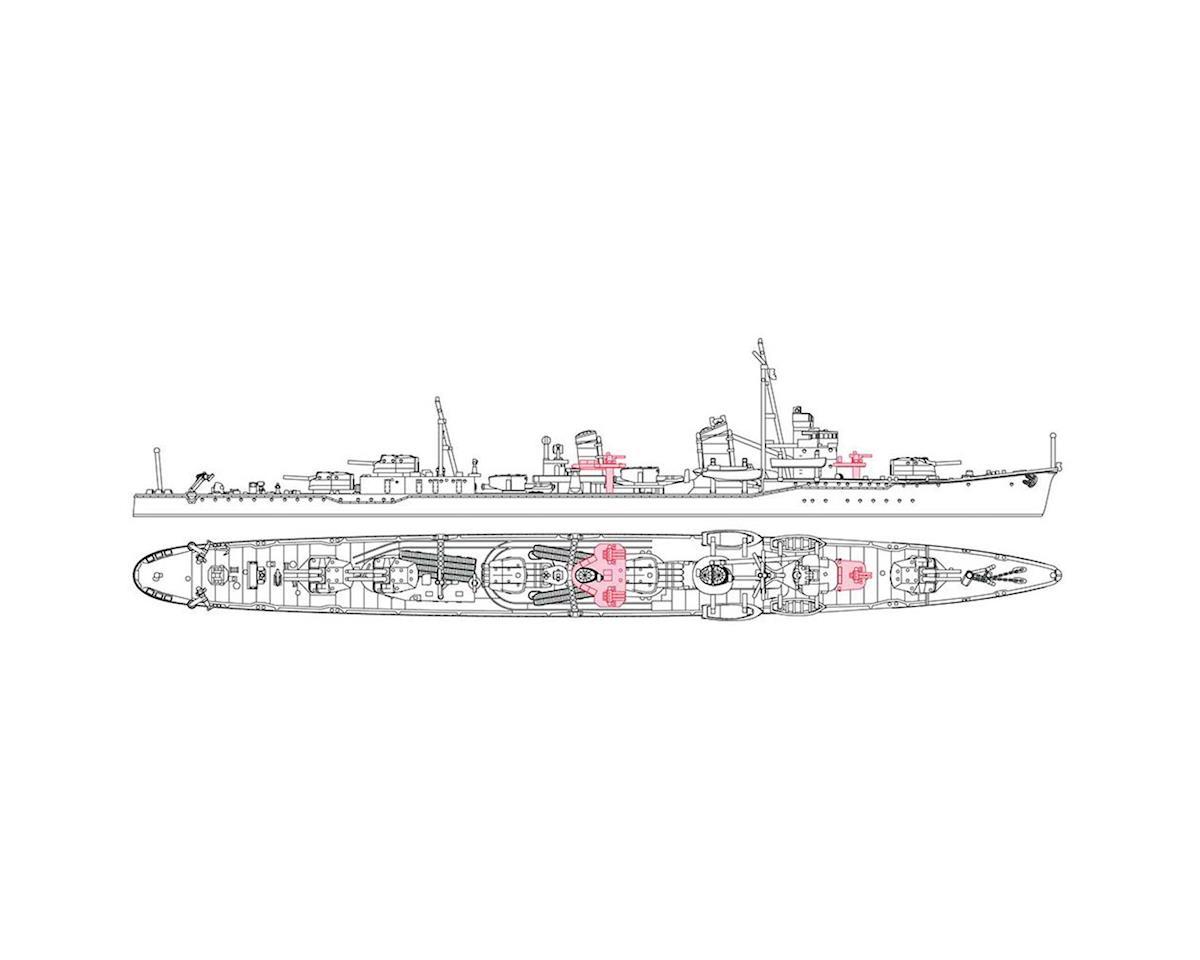 Hasegawa 49464 1/700 Japanese Navy Destroyer Minegumo