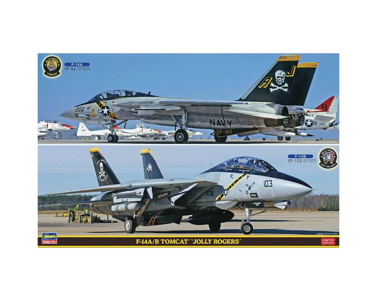 52146 1/72 F-14A/B Tomcat Jolly Rogers 2 Kits by Hasegawa