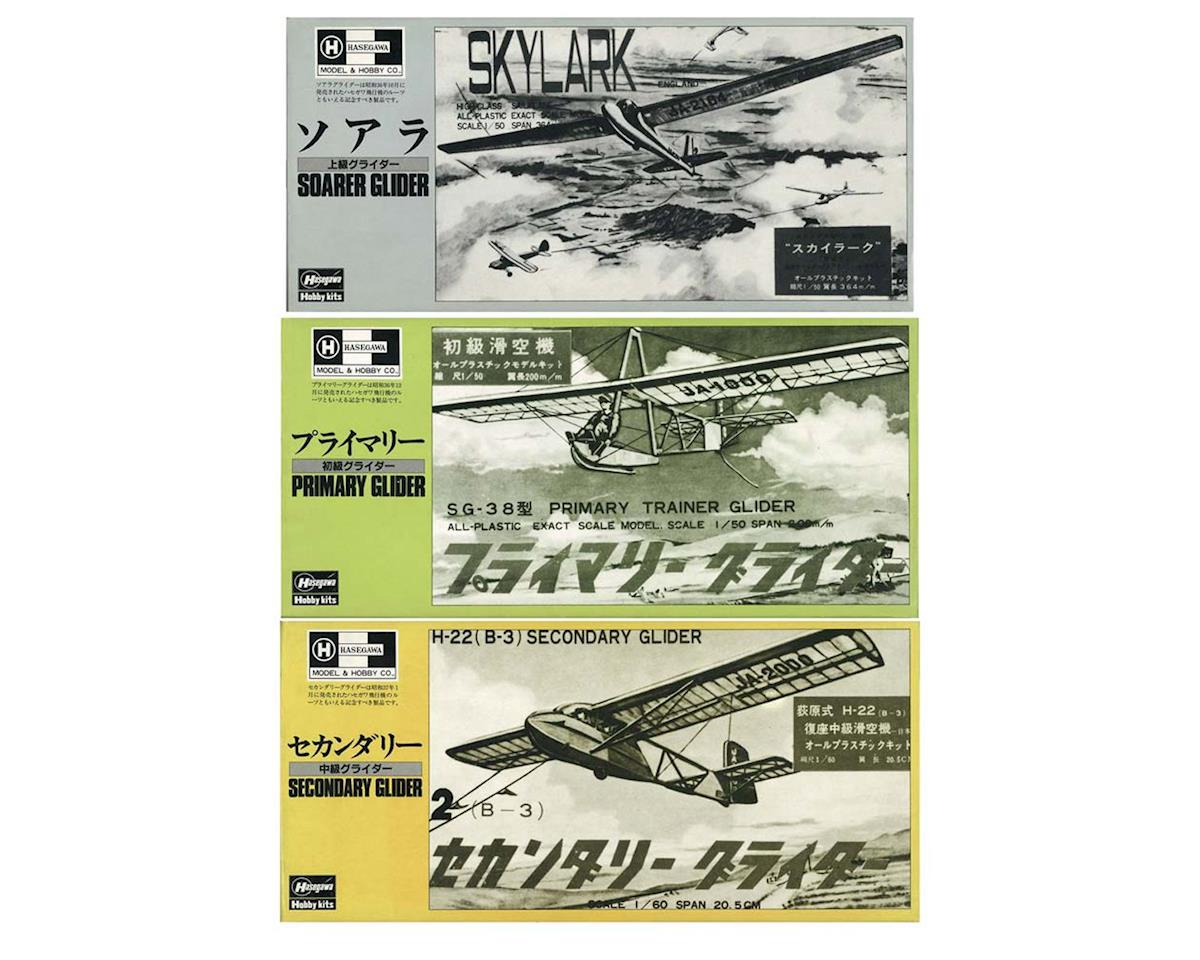 Hasegawa 52149 1/50,1/60,Primary,Secondary,Soarer Glider (3)
