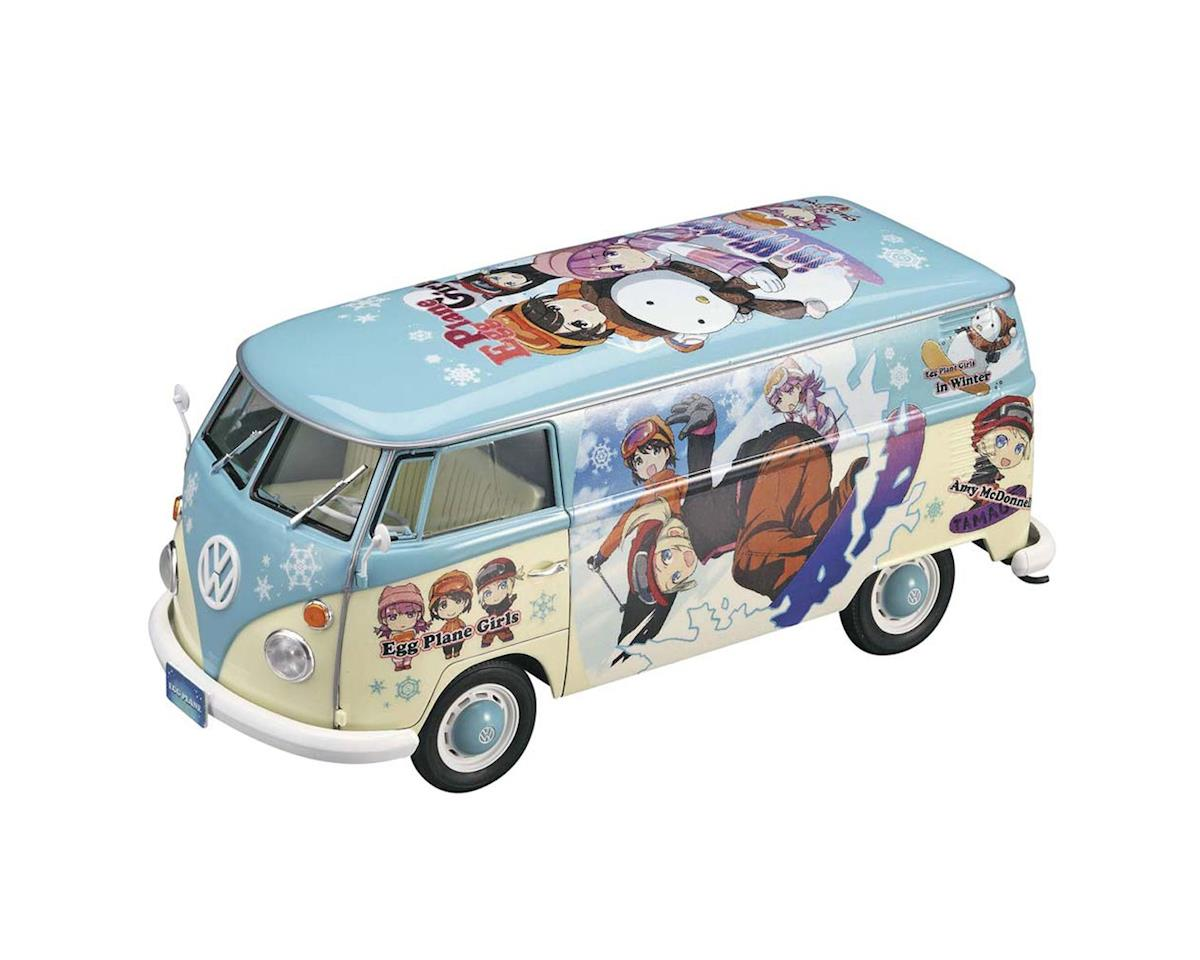 Hasegawa 52152 1/24 VW Type 2 Delivery Van Egg Girl Winter Paint