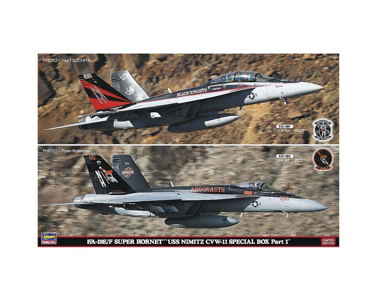 52165 1/72 F/A-18E/F Super Hornet (2 Kits) by Hasegawa