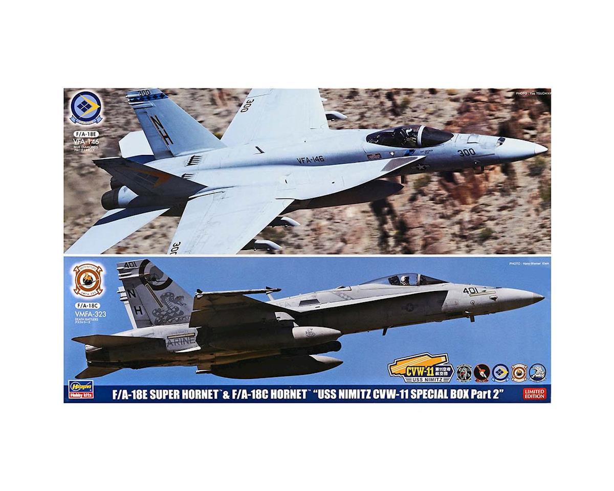 Hasegawa 52167 1/72 F/A-18E Super Hornet And F/A-18C Hornet (2)