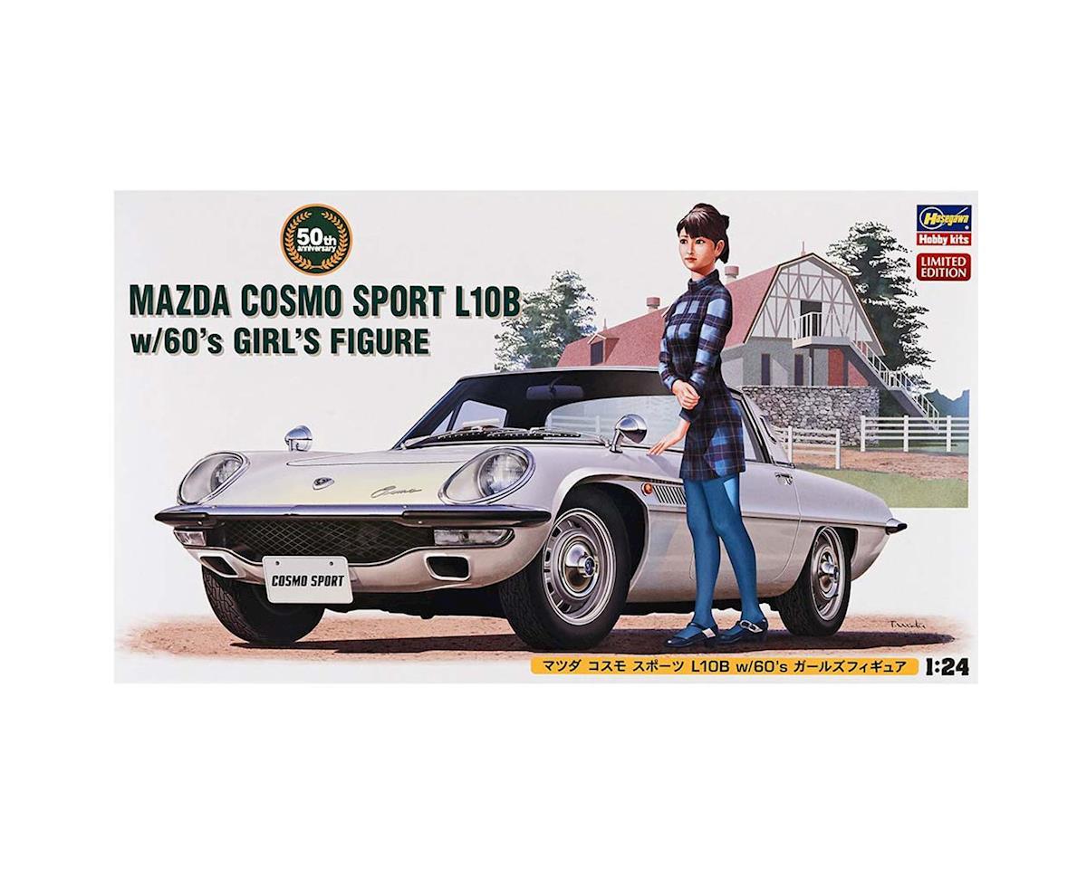 Hasegawa 1/24 Mazda Cosmo Sport L10B w/Figure
