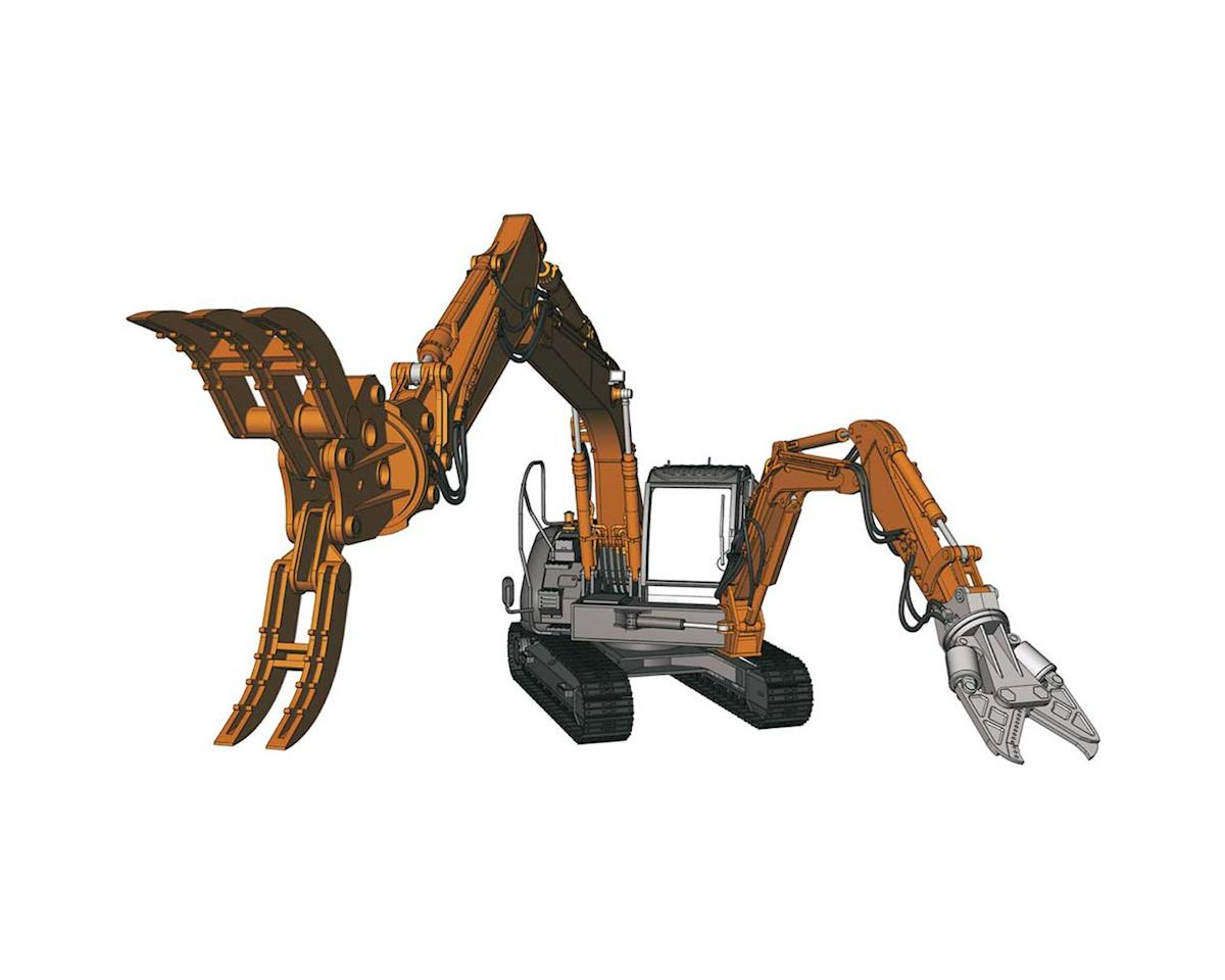 Hasegawa 54004 1/35 Hitachi Dbl Arm Working Machine Astaco Neo