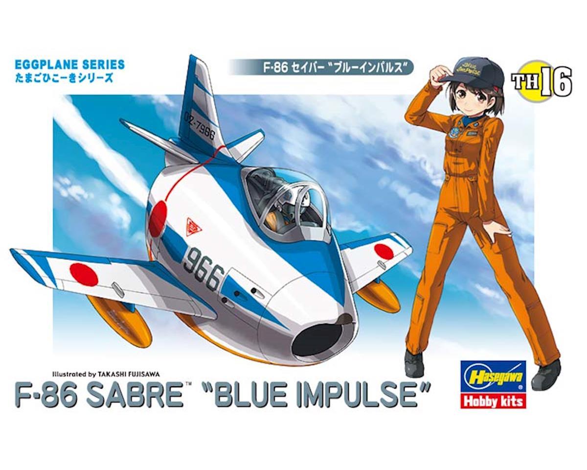 Hasegawa 60126 Egg Plane F-86 Sabre Blue Impulse
