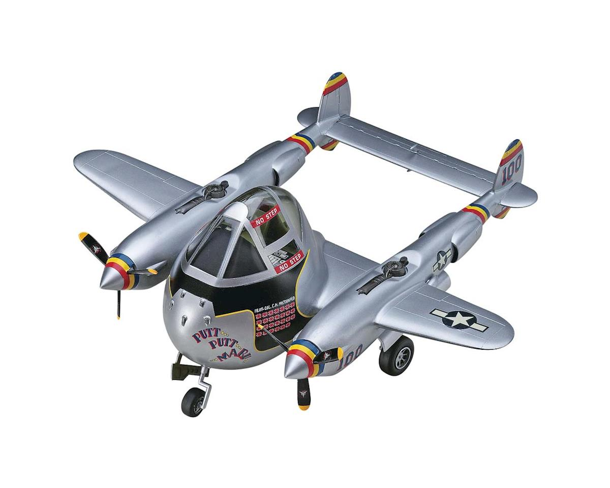 60136 Egg Plane P-38 Lightning by Hasegawa