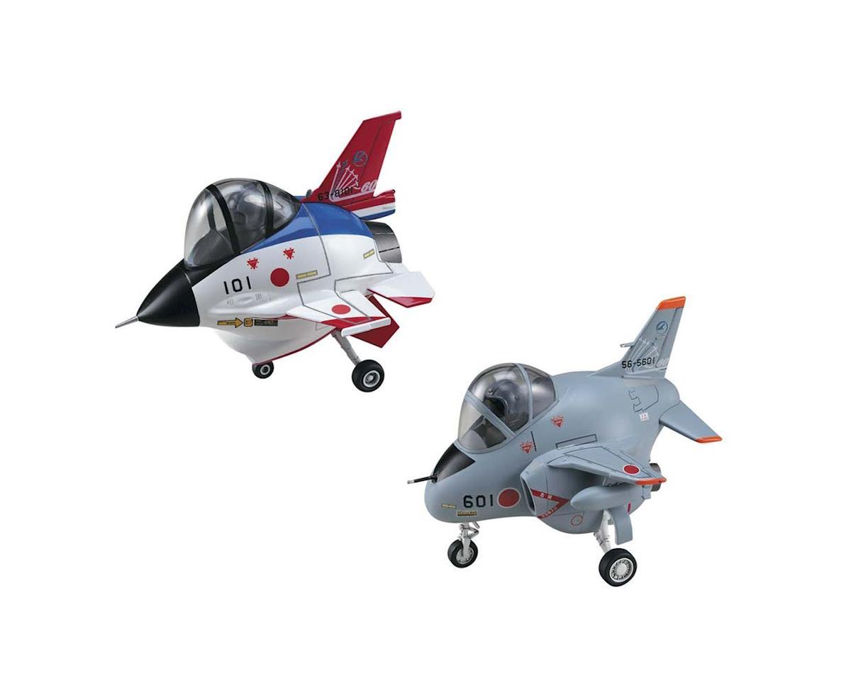 Hasegawa Eggplane F-2/T-4 ADTW 60th Anniversary (2 Kits)