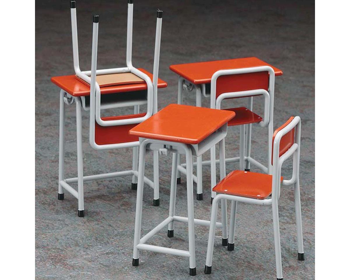 Hasegawa 62001 1/12 School Desk & Chair