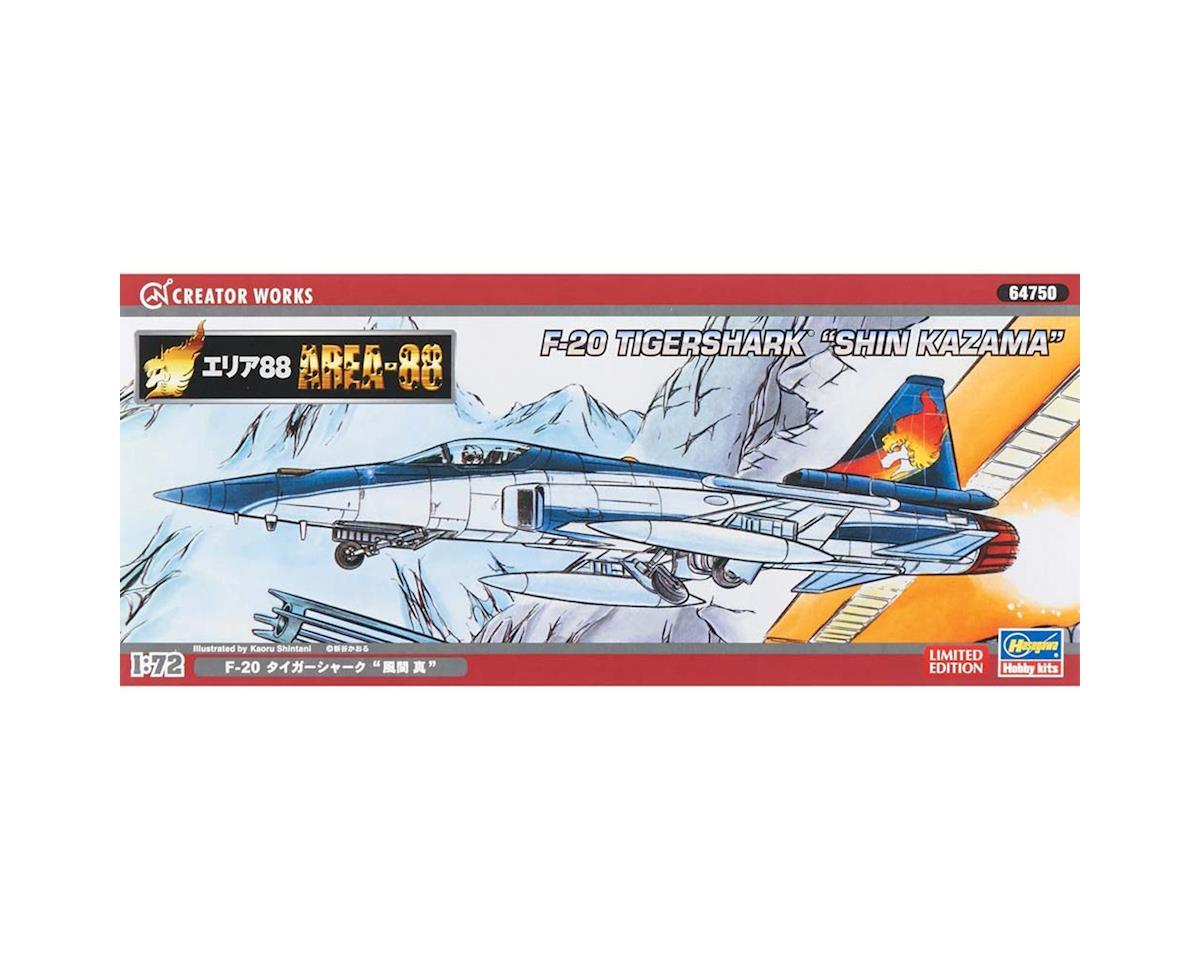 Hasegawa 1/72 Area-88 F-20 Tiger Shark Shin Kazama
