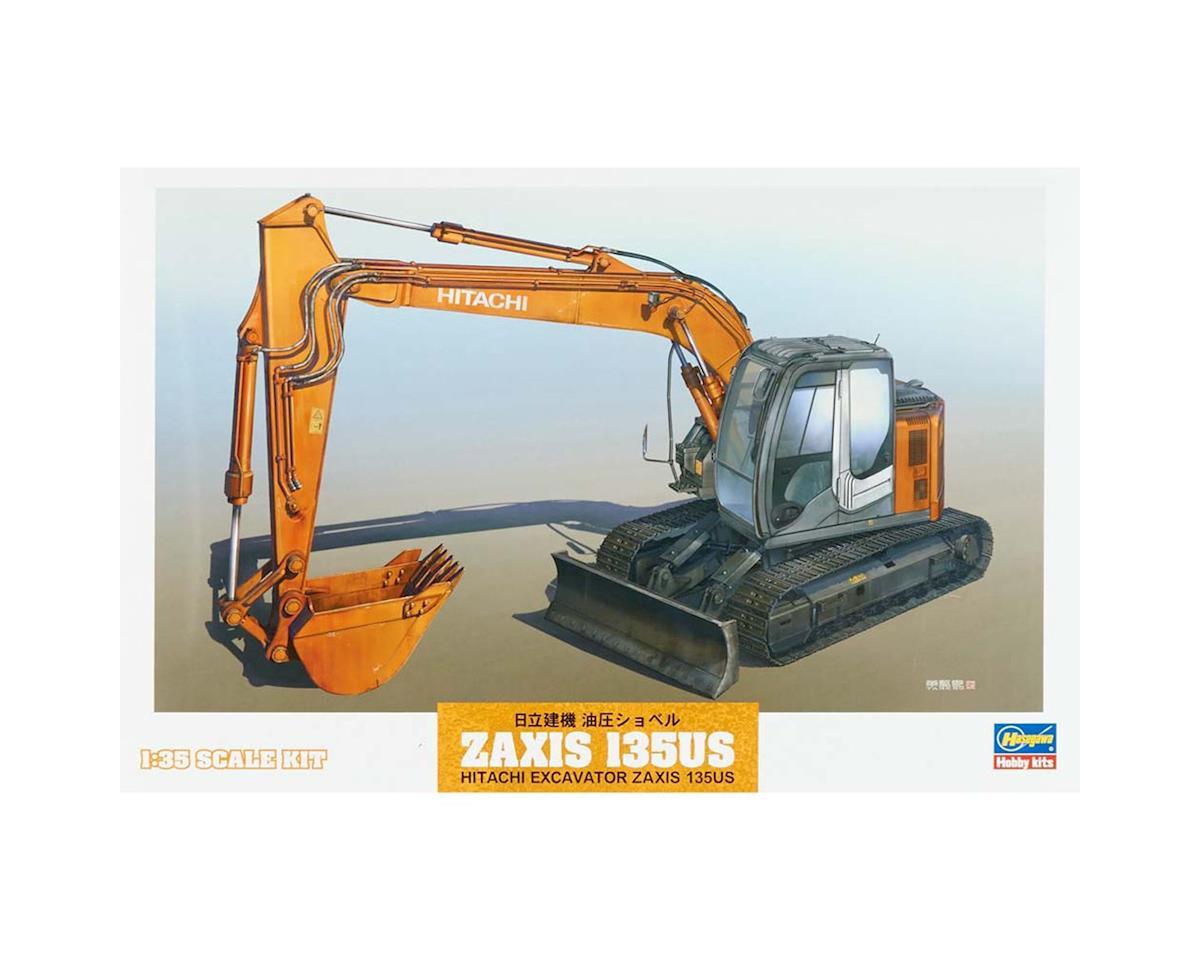 Hasegawa 66001 1/35 Hitachi Excavator Z Axis 135 US