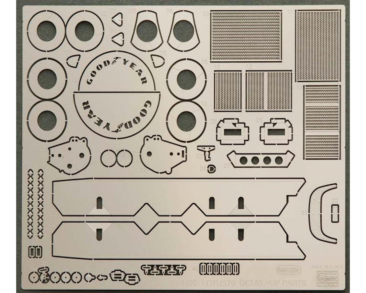 Hasegawa -2 1/20 Photo Etch Parts Lotus 79 Formula One