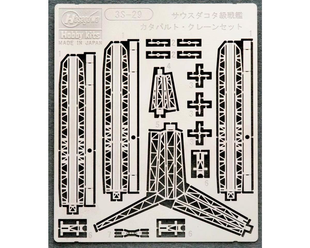 72729 1/700 South Dakota Catapult & Crane Set by Hasegawa