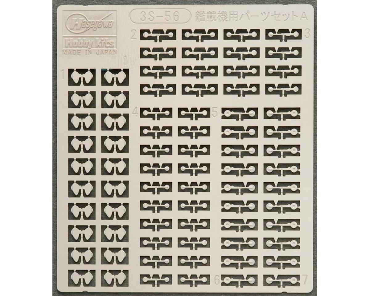 Hasegawa 1/700 PE Parts WWII Jpn A/C Landing Gear Set A