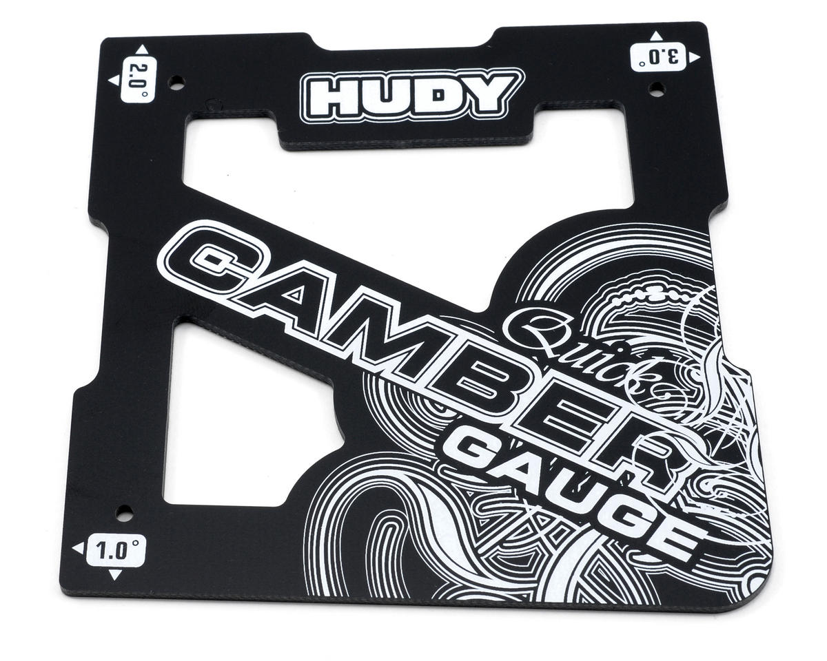 1/8 Off-Road Quick Camber Gauge by Hudy
