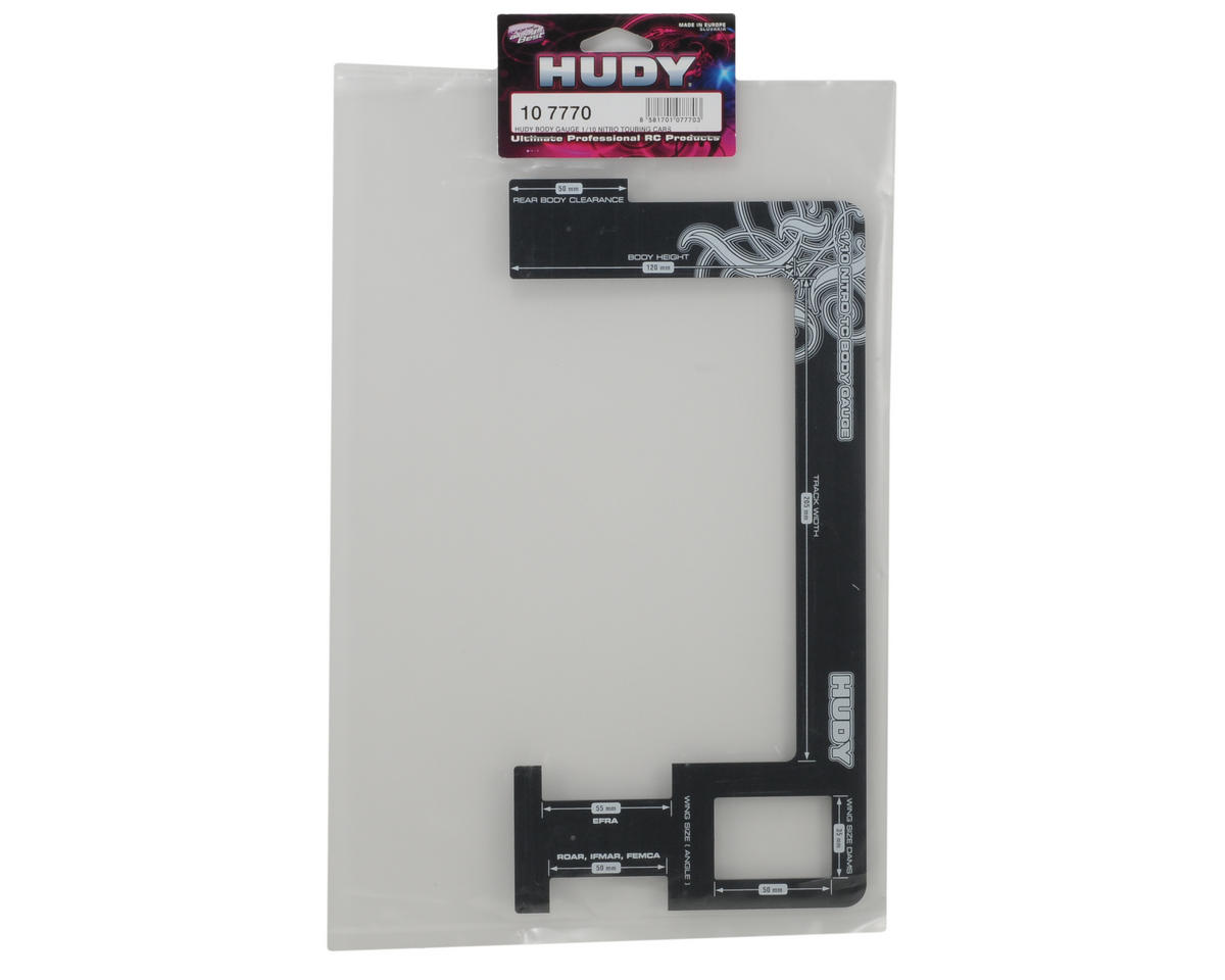 Hudy 1/10 Nitro Touring Car Body Gauge