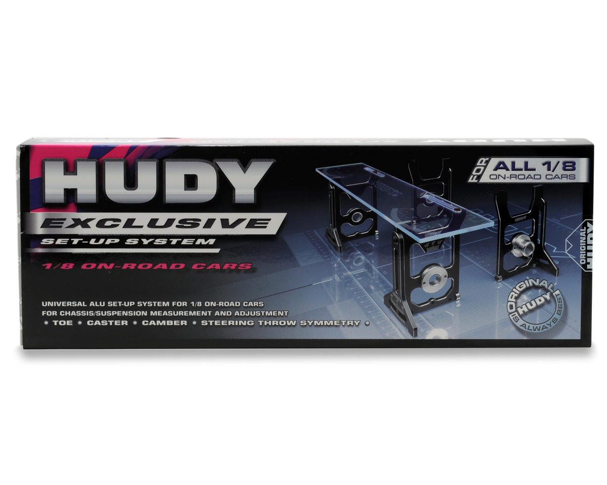 Hudy Universal Exclusive Set-Up System (1/8 On-Road)