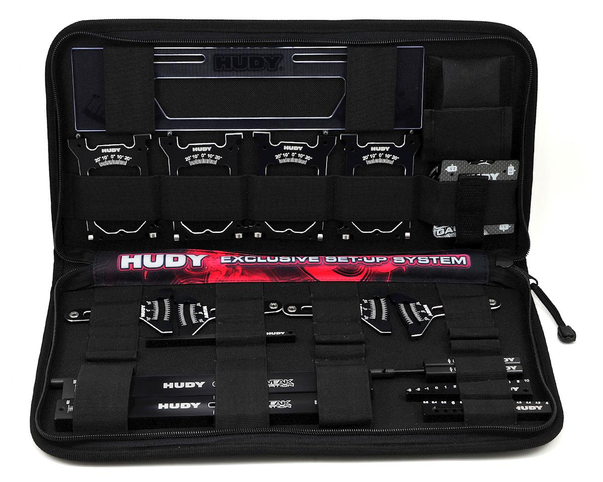 Hudy Complete Set-Up Tool Set w/Carrying Bag (1/10 Touring Car)