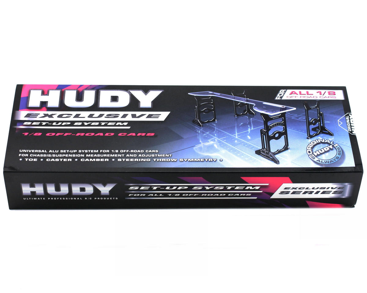 Hudy Universal Exclusive Set-Up System For 1/8 Off-Road Cars