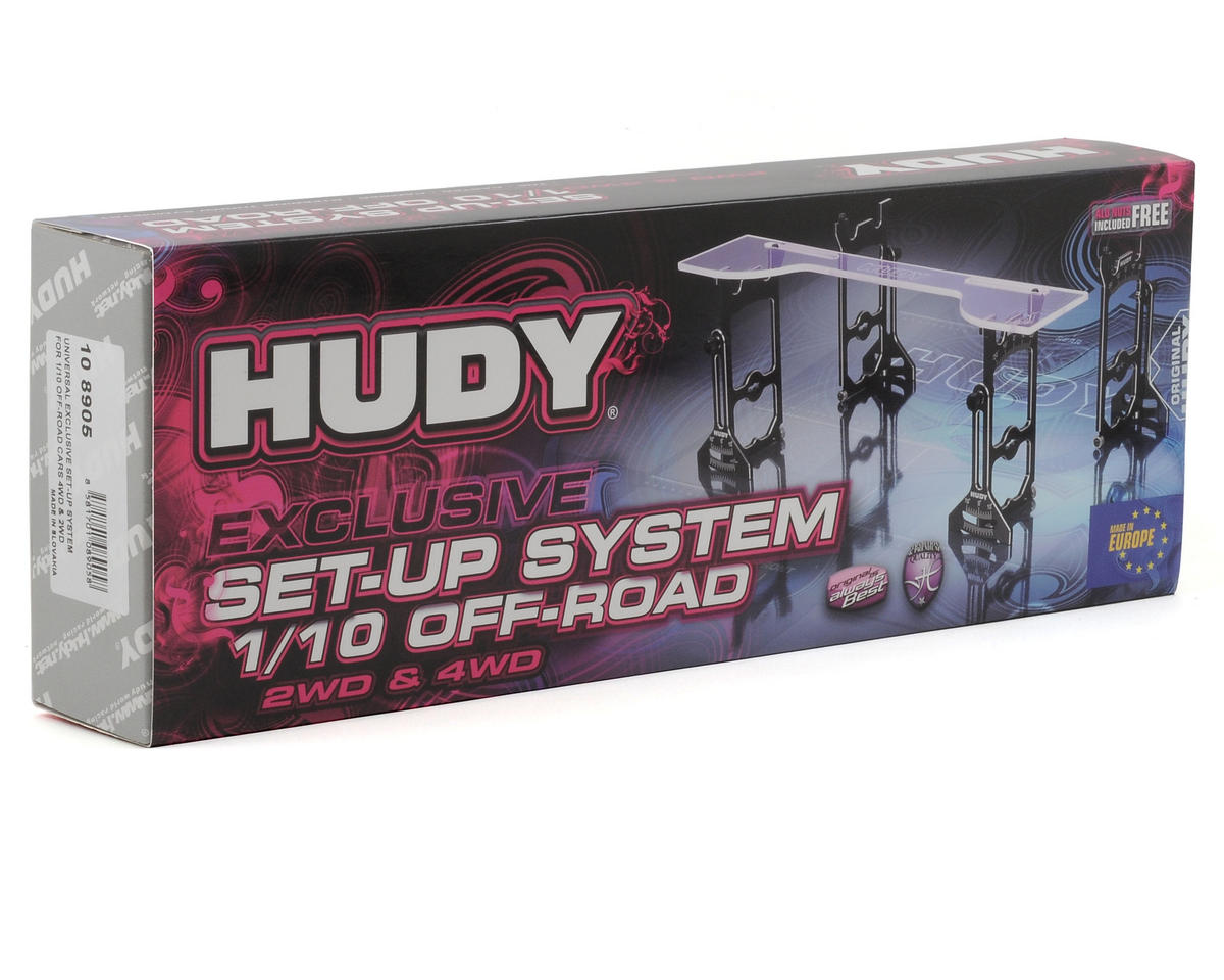 Hudy Universal Exclusive Set-Up System (1/10 Off-Road)