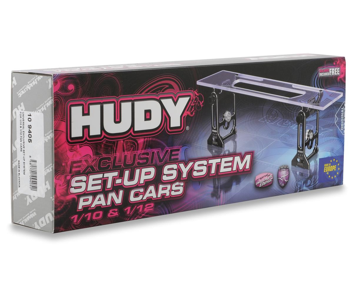 Hudy Universal Exclusive Set-Up System (1/10 & 1/12 Pan Car)