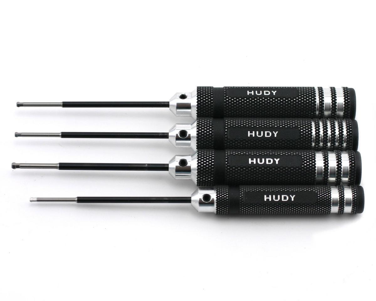 Hudy Metric/Standard Ball Hex Driver Set (4) [HUD190130] | Cars