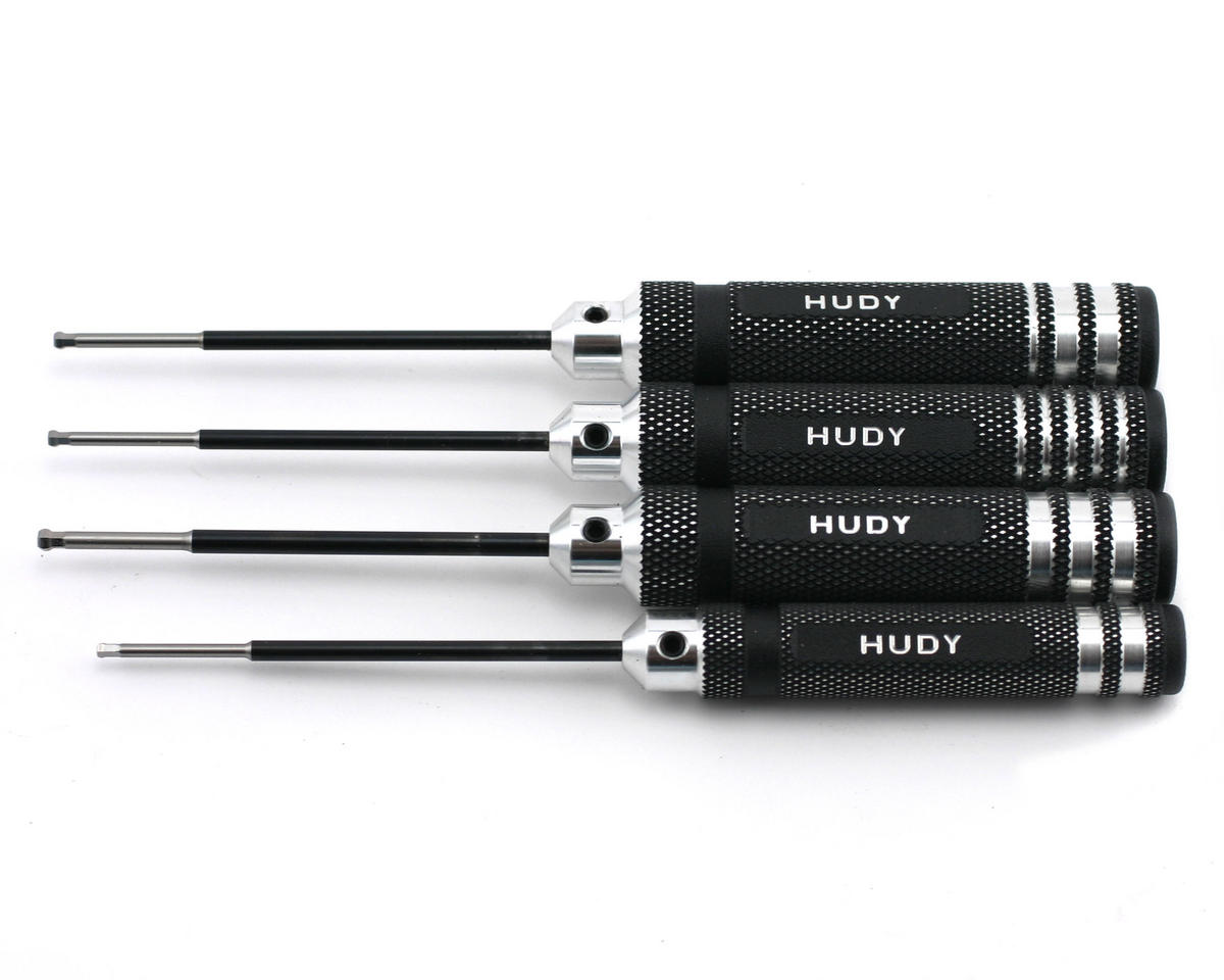 Metric/Standard Ball Hex Driver Set (4) by Hudy