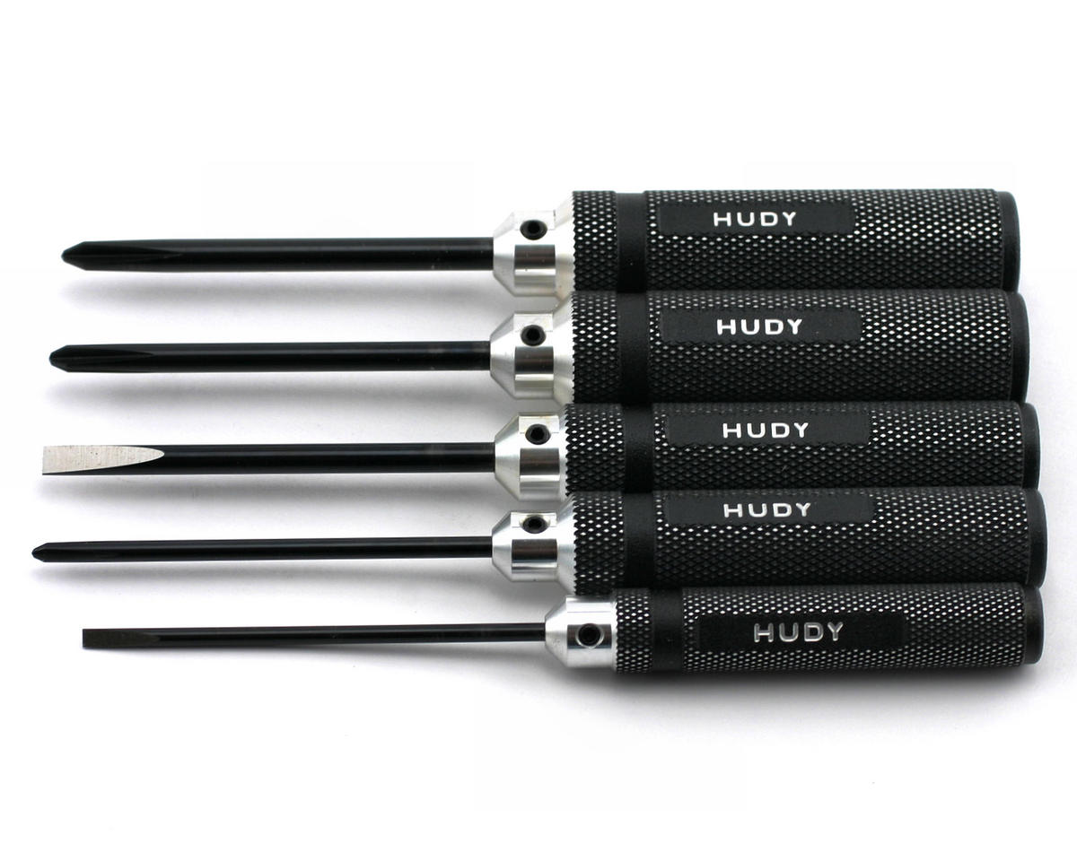 Hudy Screwdriver & Phillips Set (5)