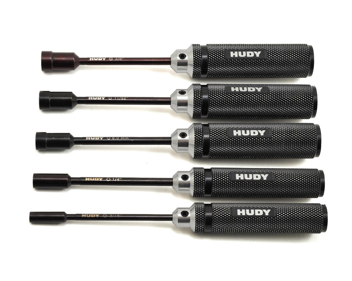 Socket Driver Inch Set (5) by Hudy