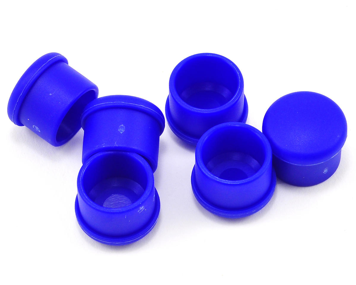 Hudy 18mm Plastic V2 Handle Cap Set (Blue) (6)