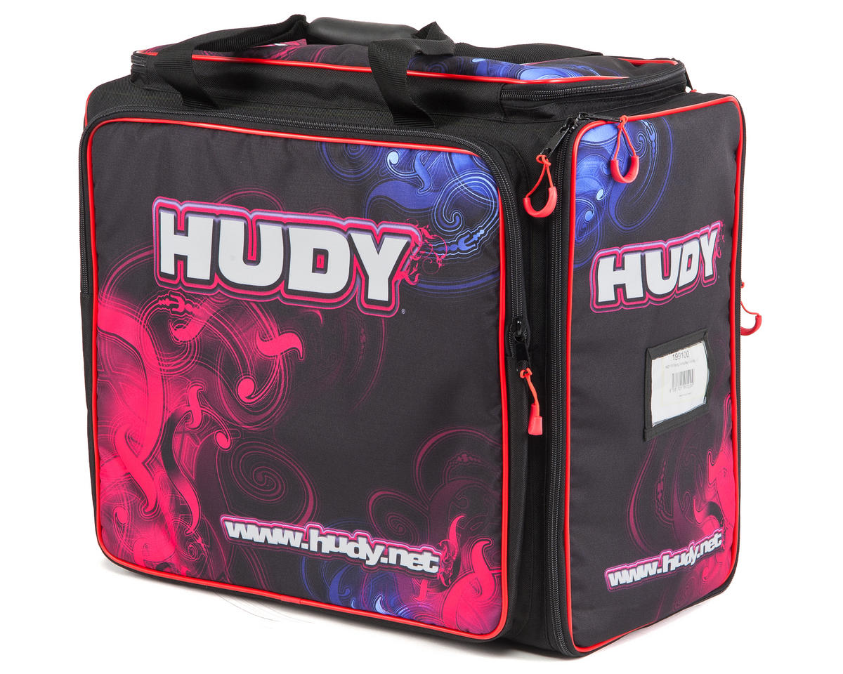 Exclusive Edition Carrying Bag w/Tool Bag (1/10 Touring) by Hudy