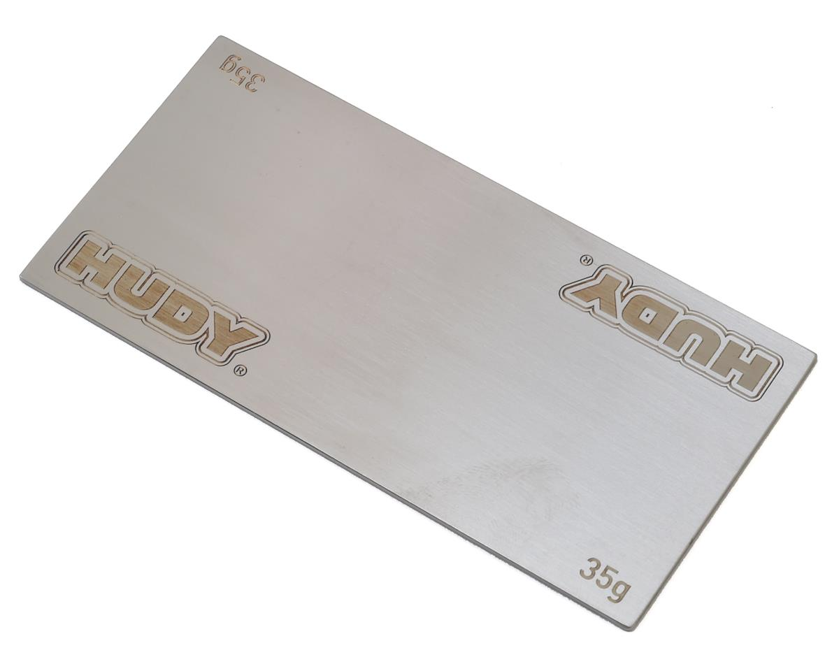 Hudy Stainless Steel Battery Weight (35g) (Team Associated RC10 T6.1)