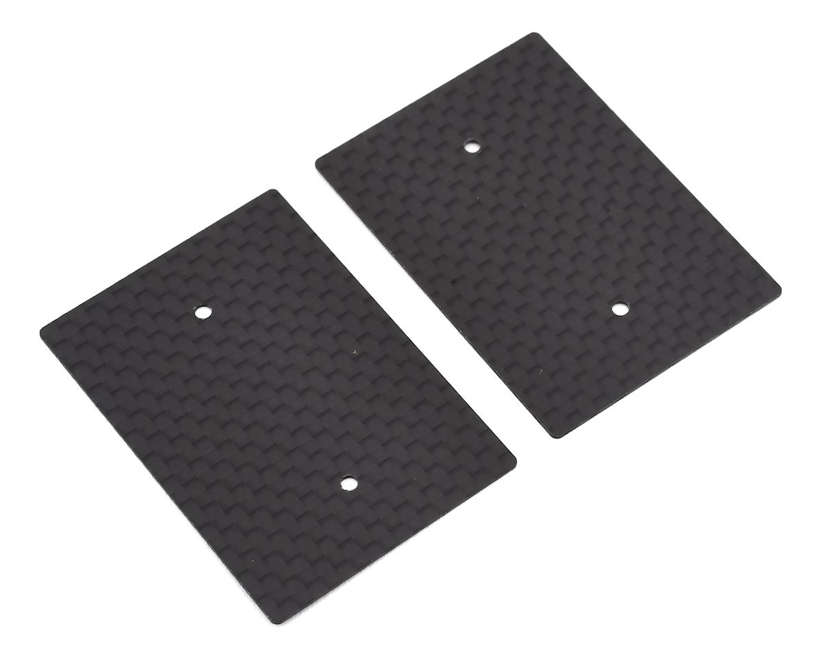 Hudy 0.5mm 1/10 Nitro Graphite Rear Wing Side Plate (2)