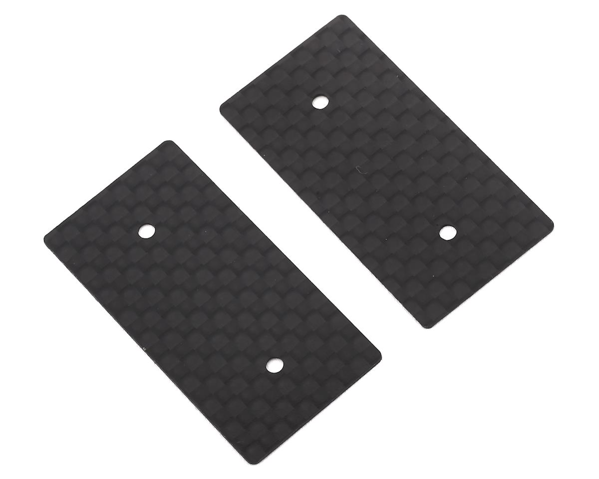 Hudy 0.5mm 1/10 Electric Graphite Rear Wing Side Plate (2)