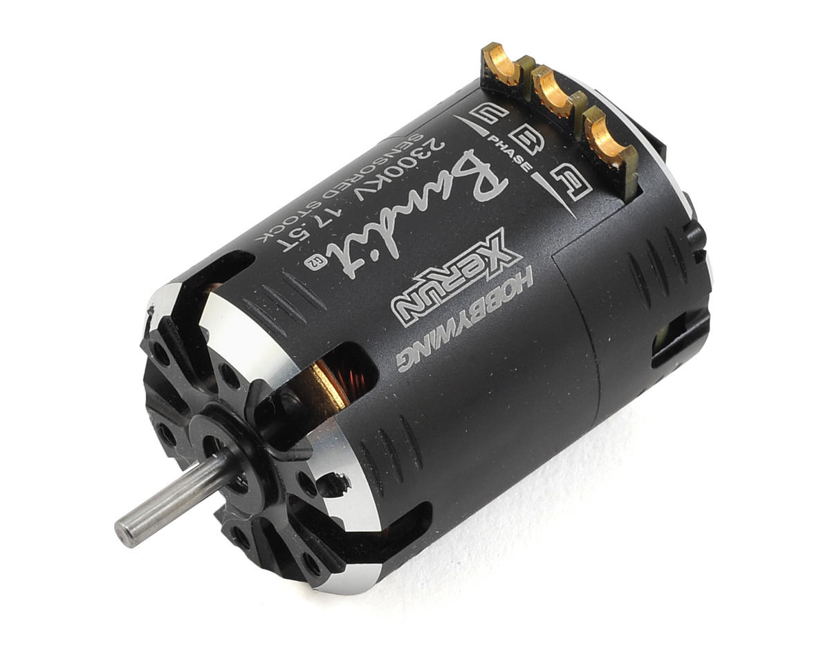 Hobbywing Xerun Bandit G2 Competition Brushless Motor (17.5T)
