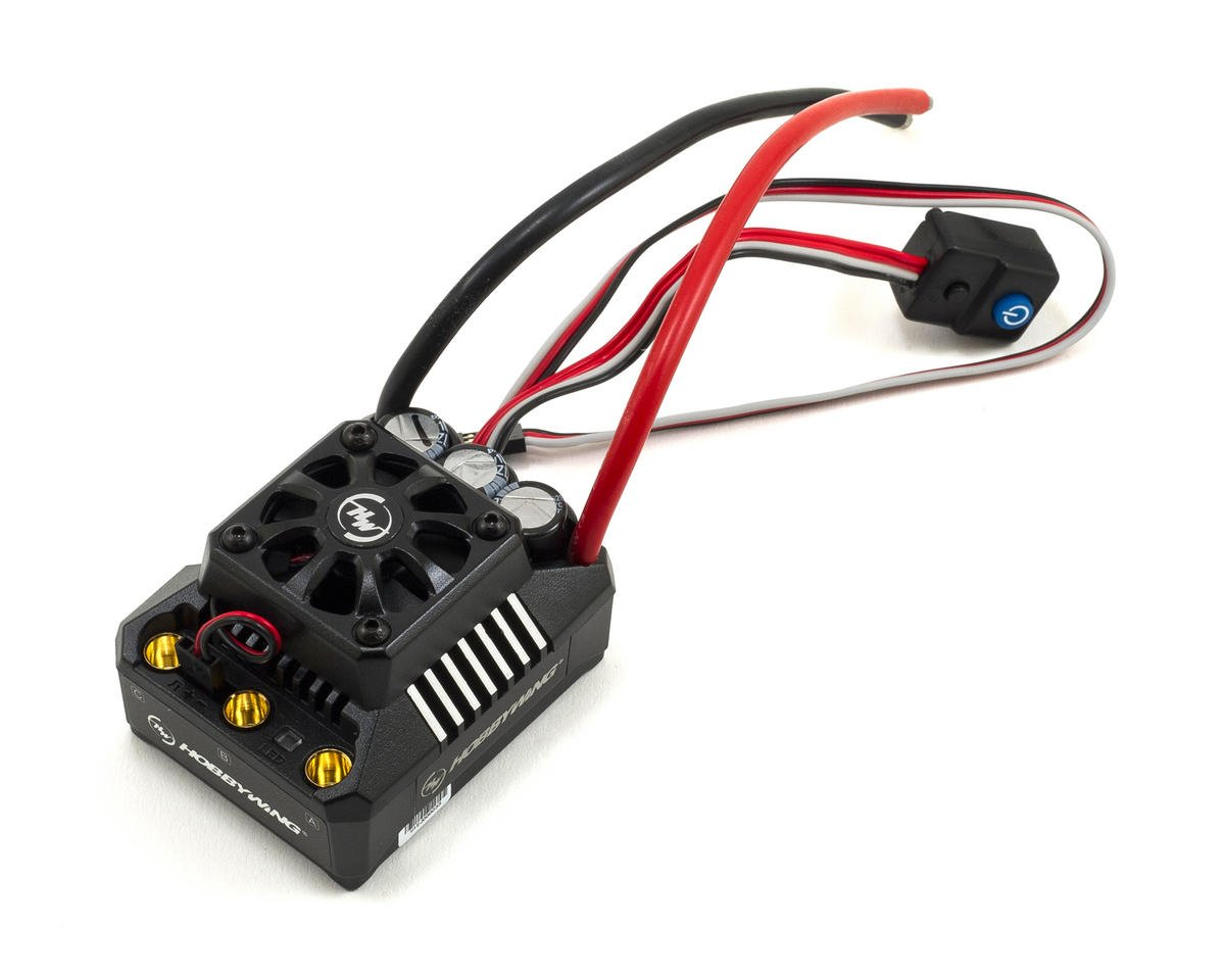 EZRun MAX6 V3 1/6 Scale Waterproof Brushless ESC (160A, 3-8S) by Hobbywing