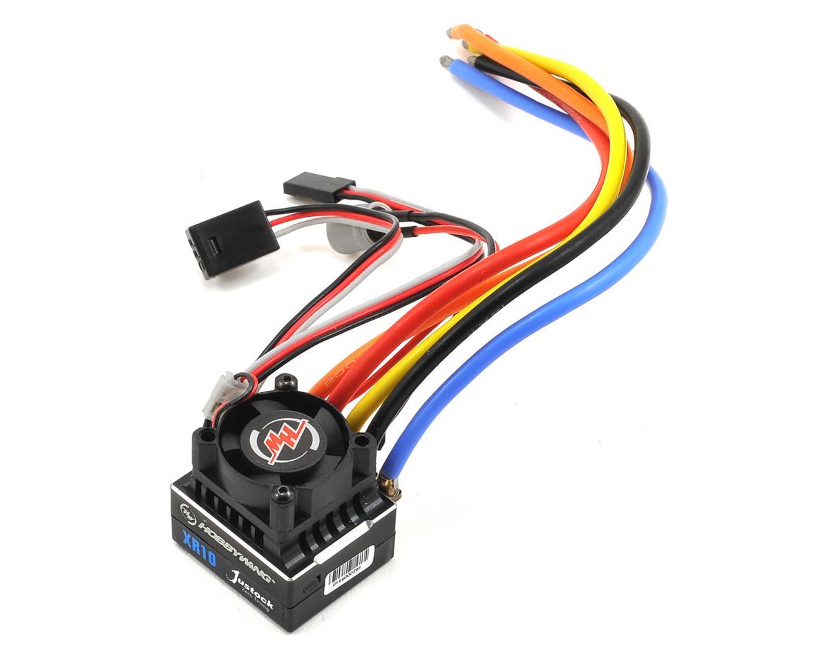XERUN XR10 Justock 1/10 Sensored Brushless ESC by Hobbywing