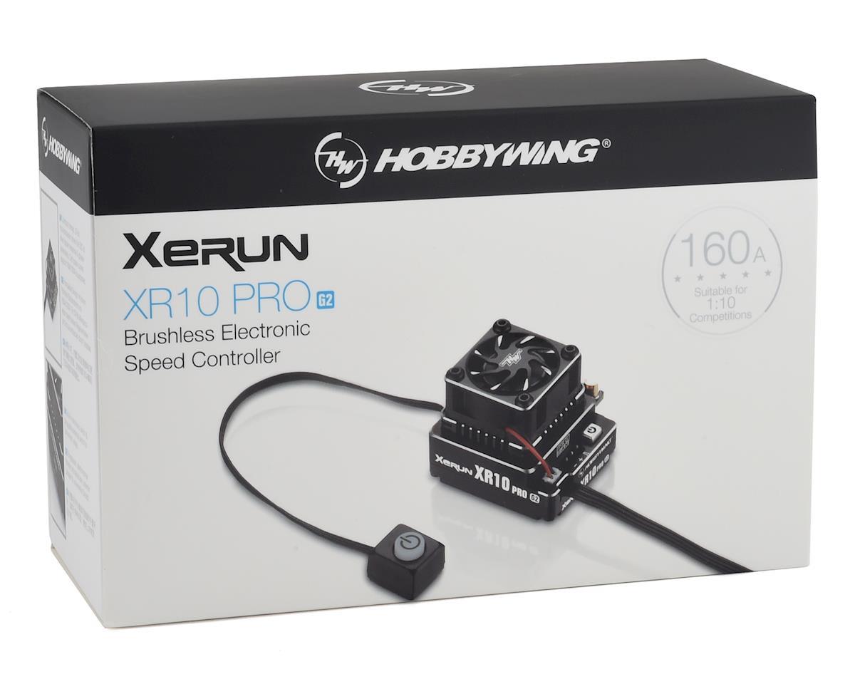 Image 4 for Hobbywing Xerun XR10 Pro G2 160A Sensored Brushless ESC (Stealth)