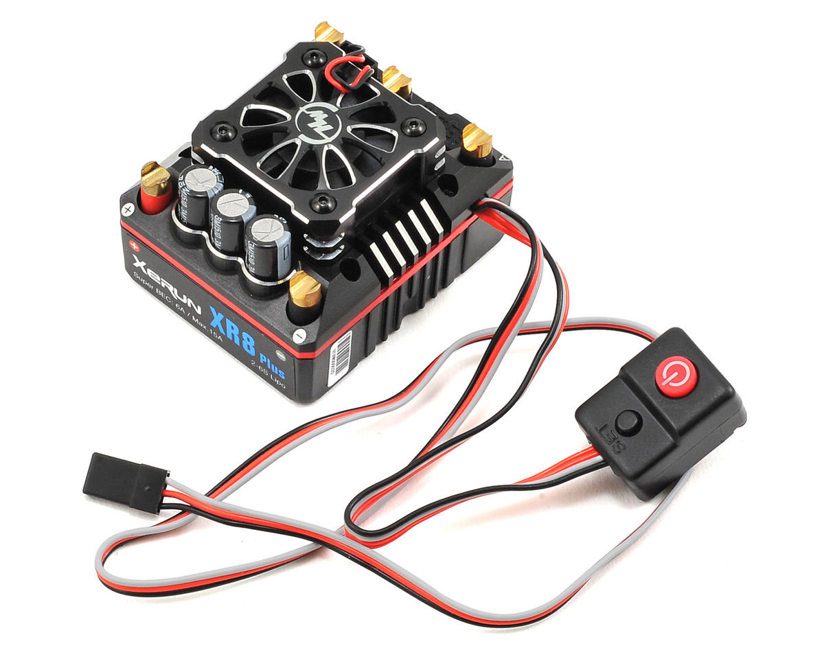 Xerun XR8 Plus 1/8 Competition Sensored Brushless ESC by Hobbywing