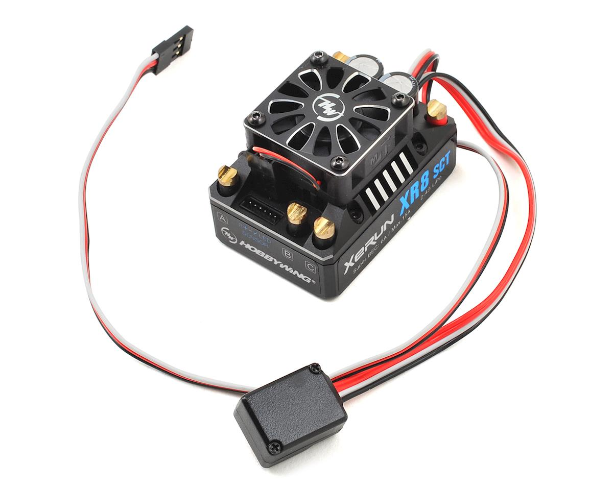 Xerun XR8 SCT 1/8 Sensored Brushless ESC by Hobbywing