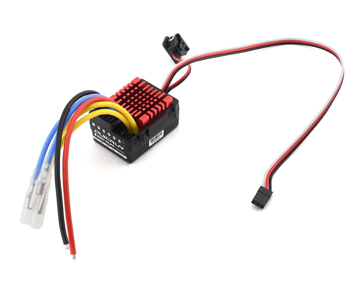Hobbywing QuicRun 880 Waterproof Dual Brushed Crawling ESC