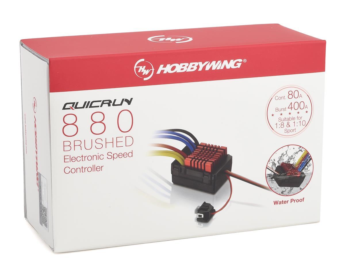 Hobbywing QuicRun 880 Waterproof Dual Brushed Crawling ESC