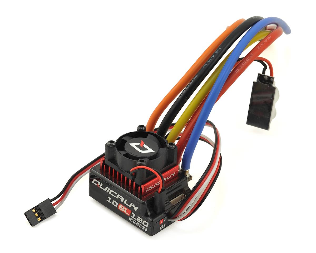 QuicRun QR10BL120 120A Sensored Brushless ESC by Hobbywing