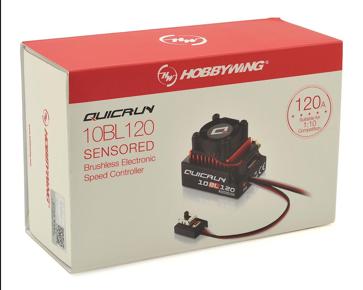 10bl120-Sensored Hobbywing 30125000 Quicrun brushless Esc