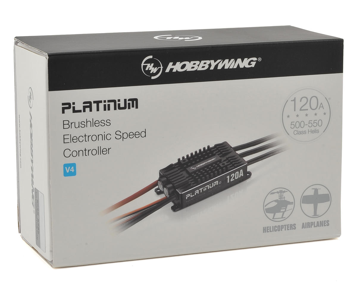 Hobbywing Platinum Pro 120A V4 120 Amp ESC