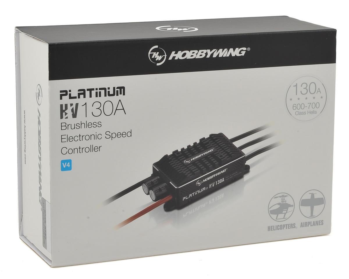 Hobbywing Platinum Pro 130A HV V4 OPTO 130 Amp ESC