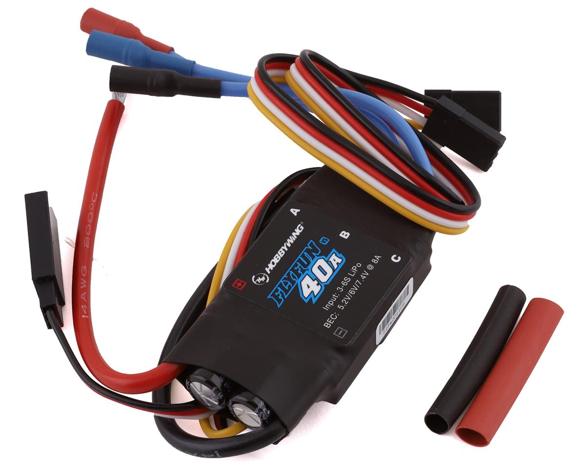 Hobbywing Flyfun 40a V5 Brushless Esc Hwa30214002 Helicopters Wiring Heliproz